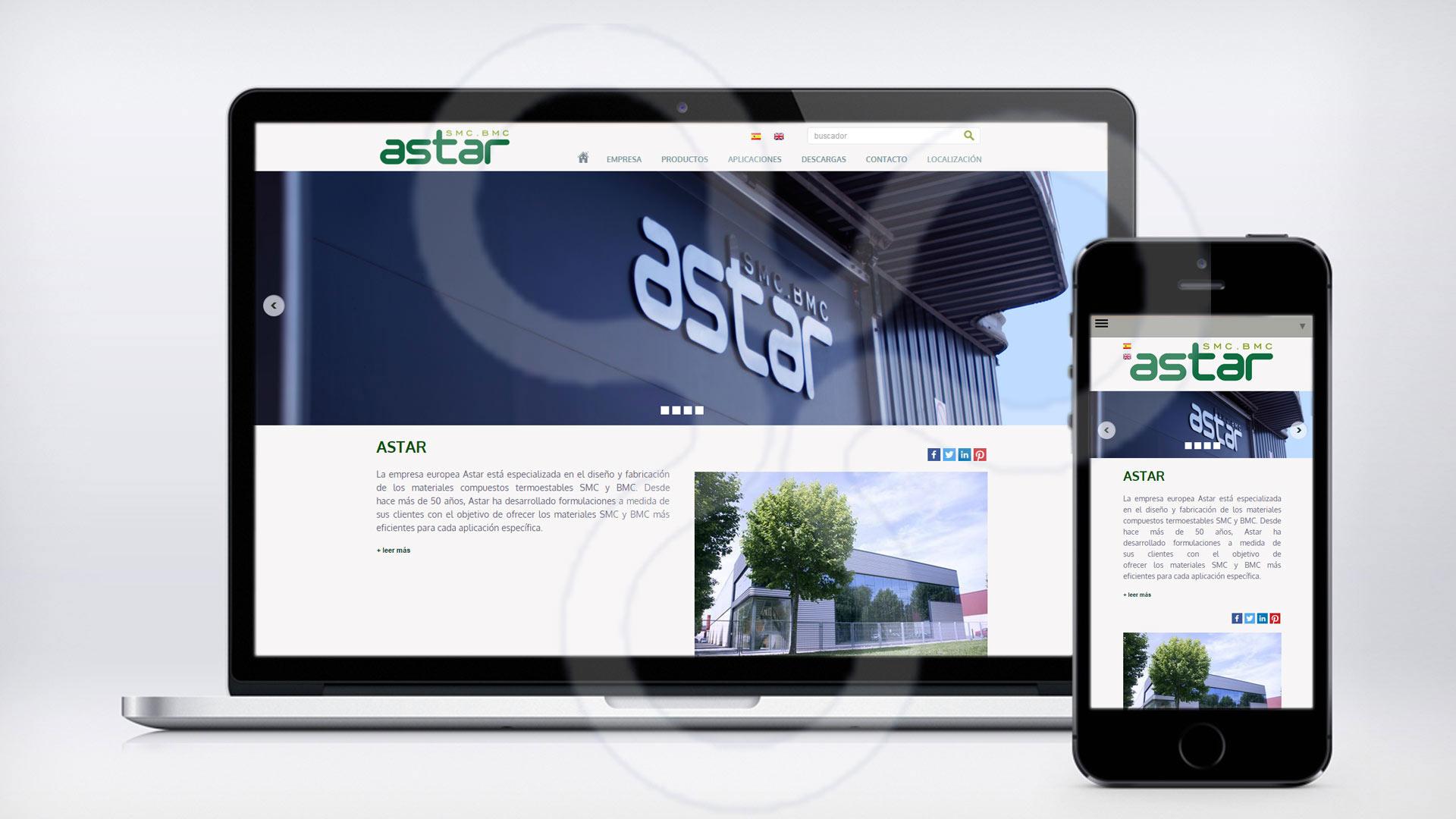 Imagen de la web de Astar