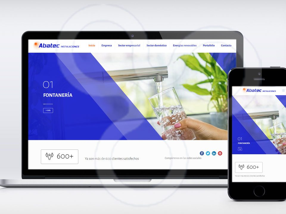 Web ABATEC Instalaciones