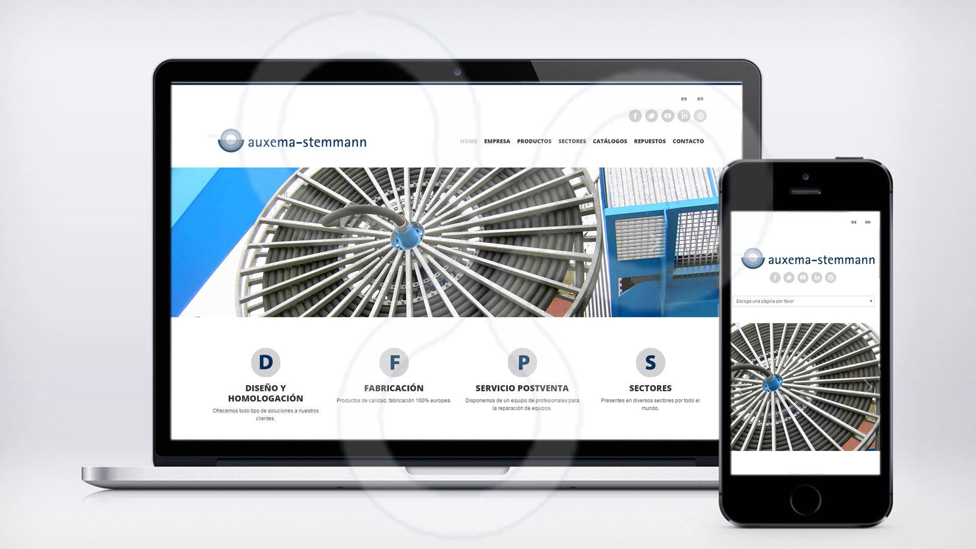 Web AUXEMA-STEMMANN
