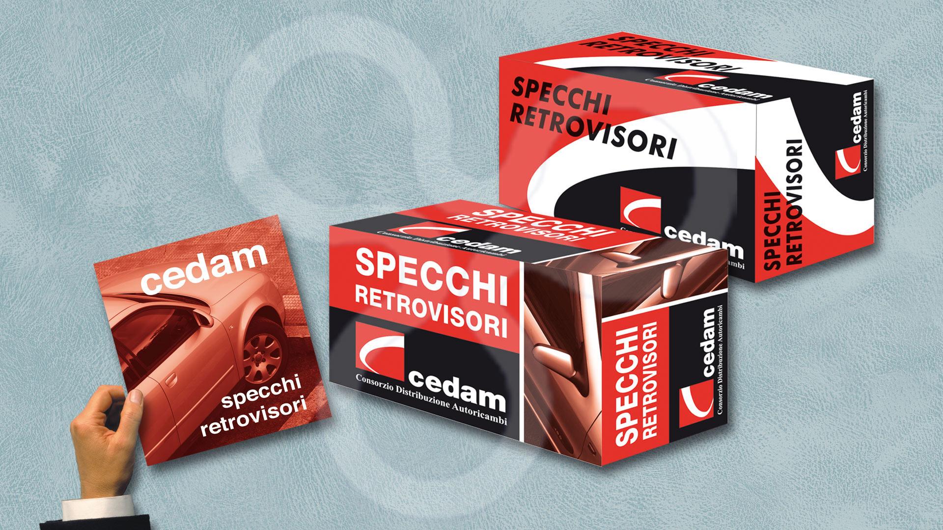 Catálogo y packaging para CEDAM