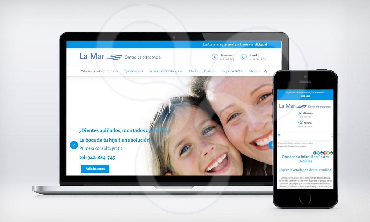 Web Clinica LA MAR