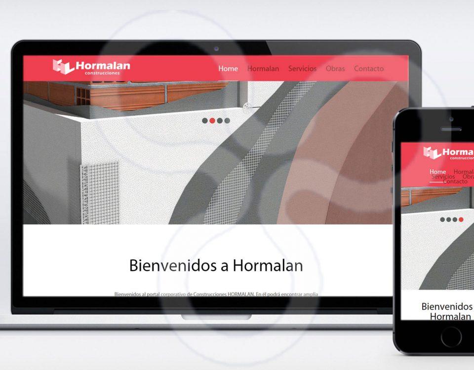Web Construcciones HORMALAN