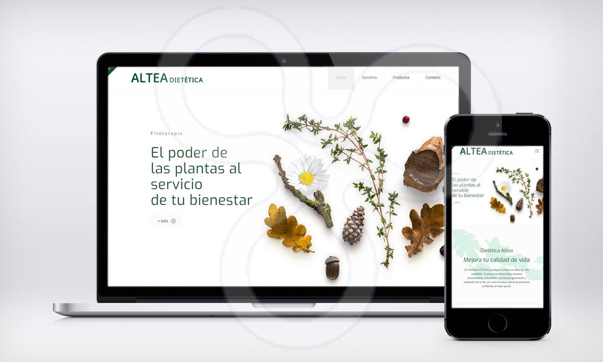 Web Dietética ALTEA