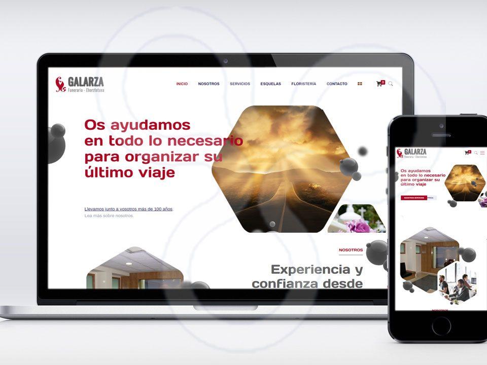 Web Funeraria GALARZA