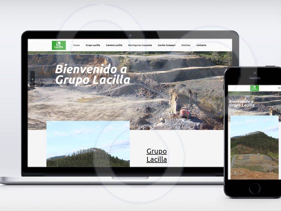 Web Grupo Lacilla