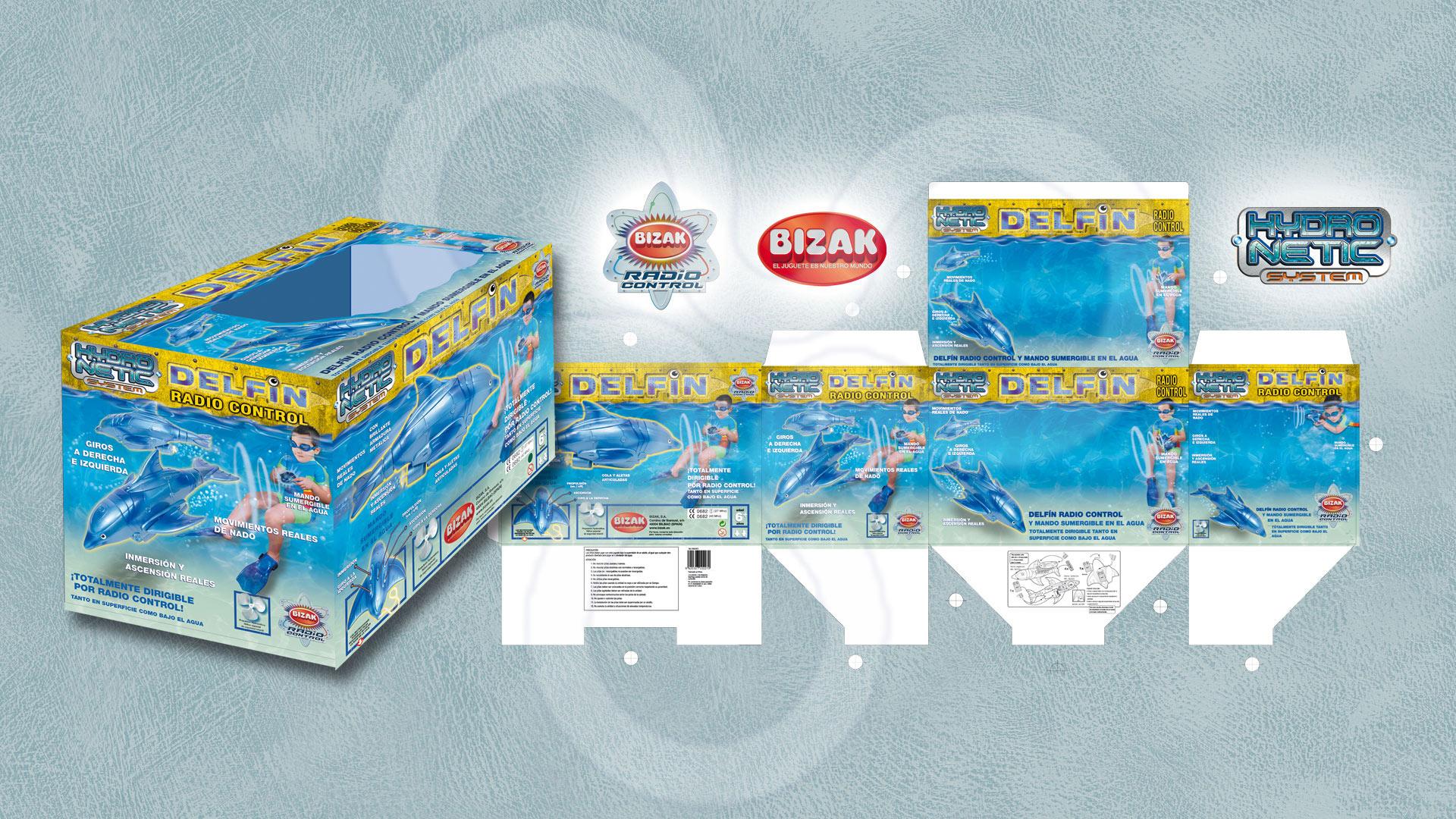 Identidad corporativa y packaging para Juguetes BIZAK