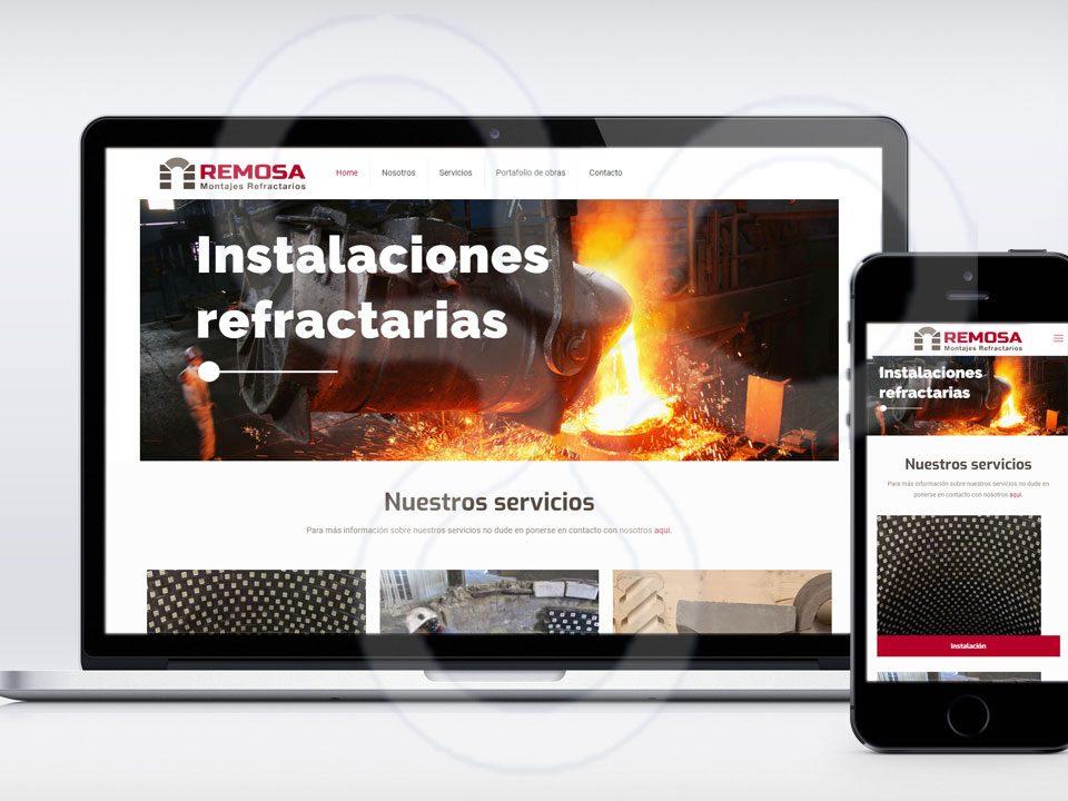 Web Refractarios REMOSA