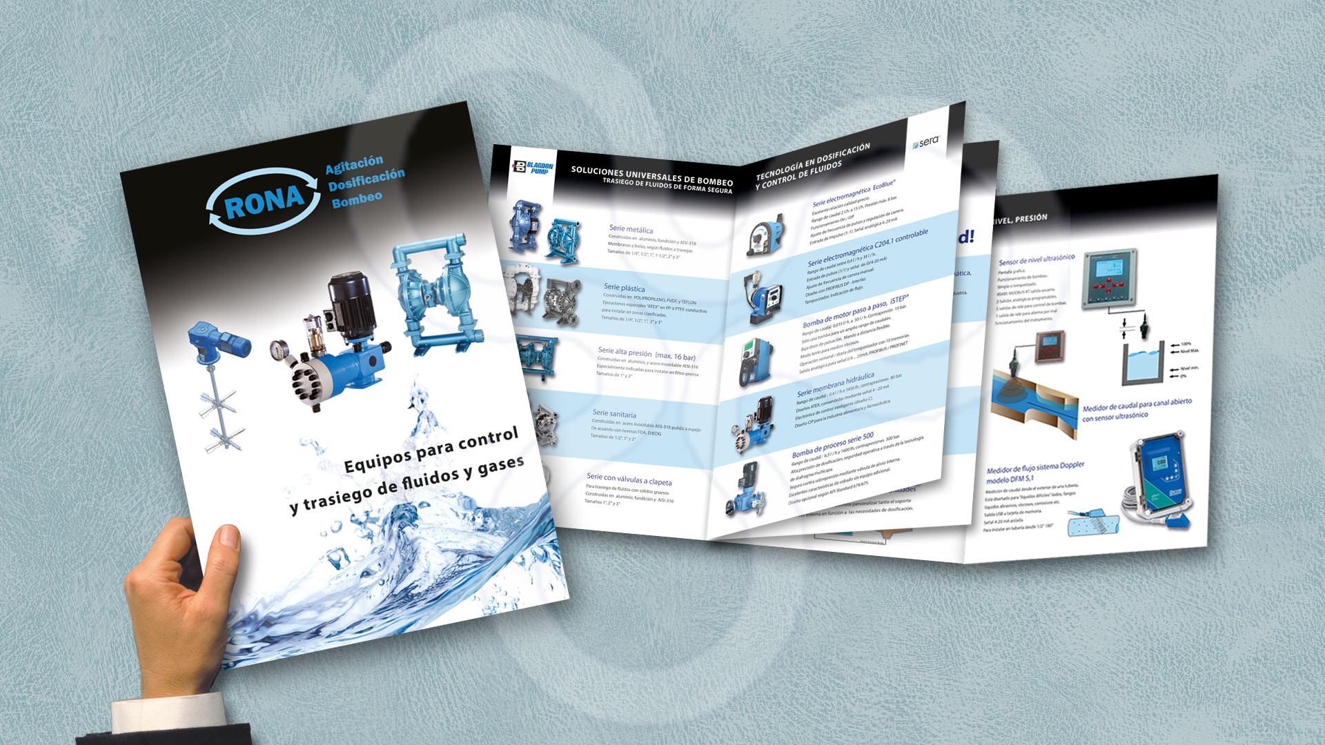 Catálogo RONA Agitación, Dosificación y Bombeo
