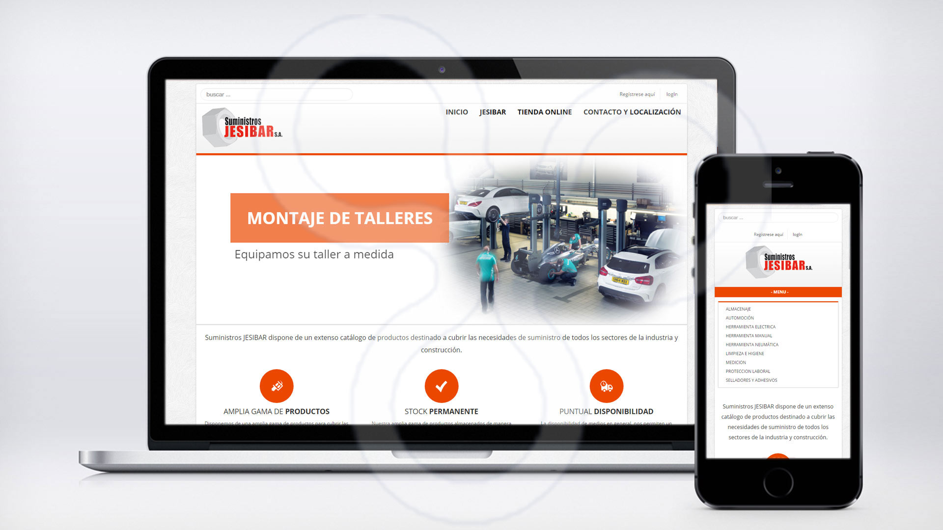 Web suministros Jesibar