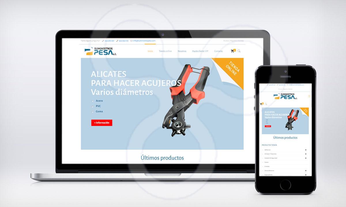 Web suministros PESA