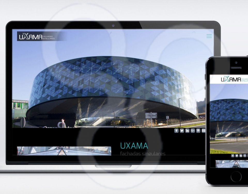 Web UXAMA Fachadas Singulares